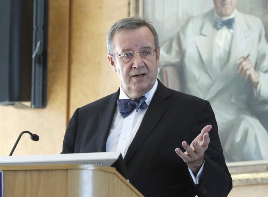 Toomas Ilves, former President of Estonia, delivers the 2020 George W. Ball lecture.