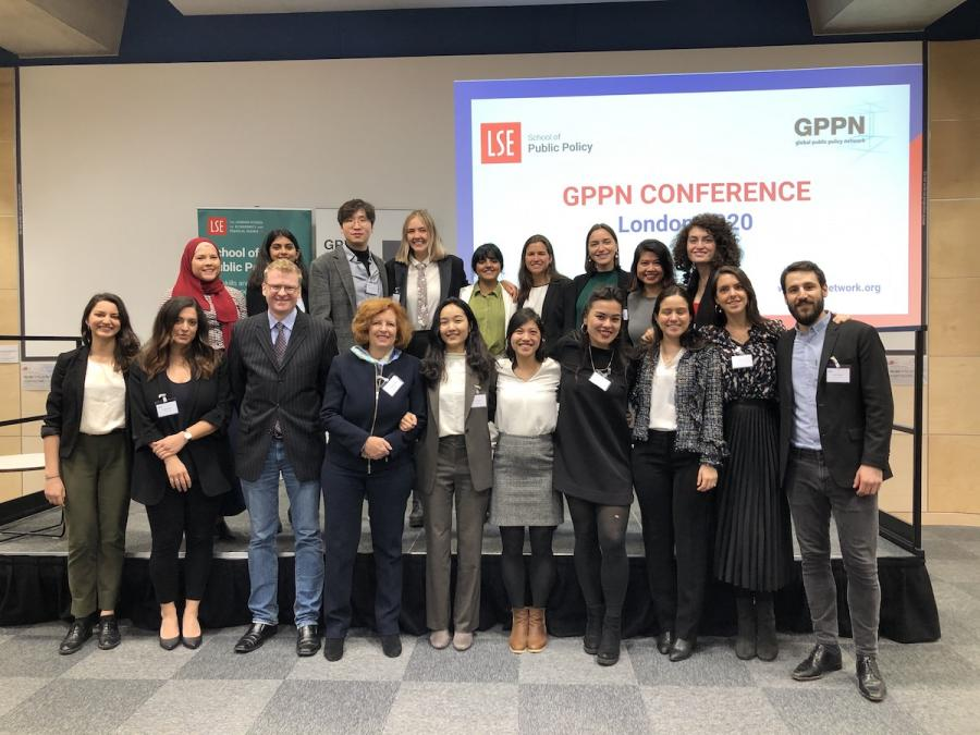 A delegation from SIPA attended the 2020 GPPN Conference in London.