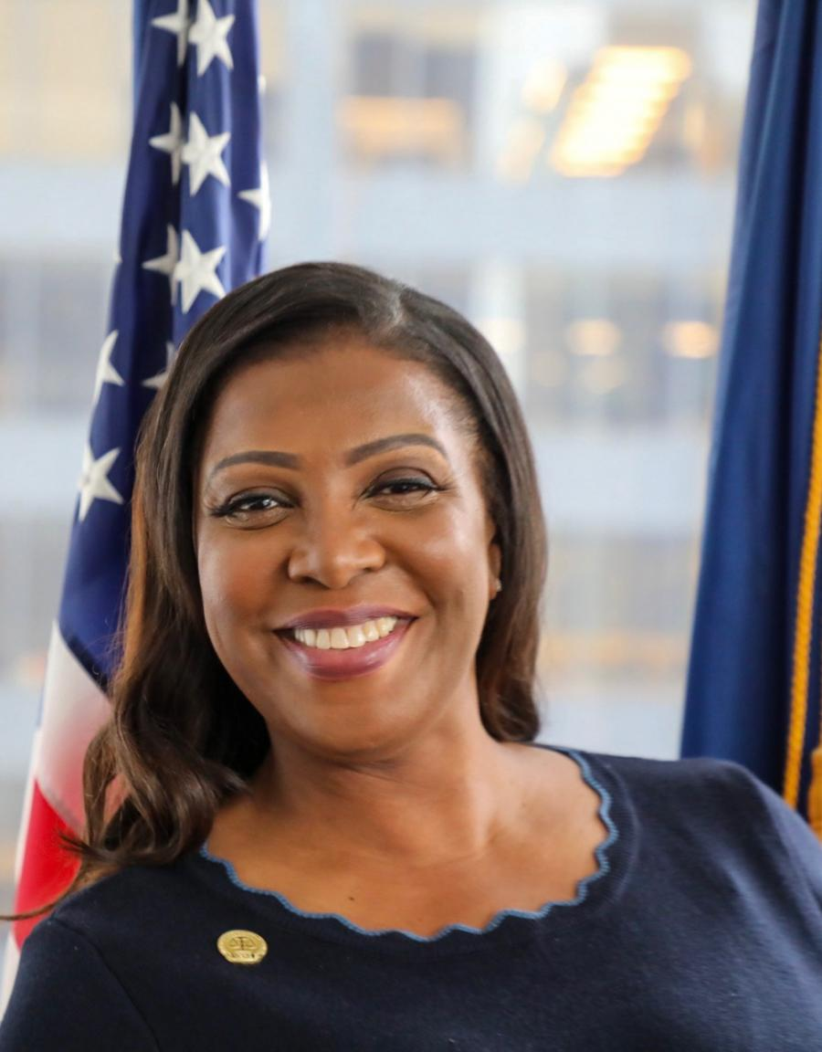 Letitia James, Attorney General of New York