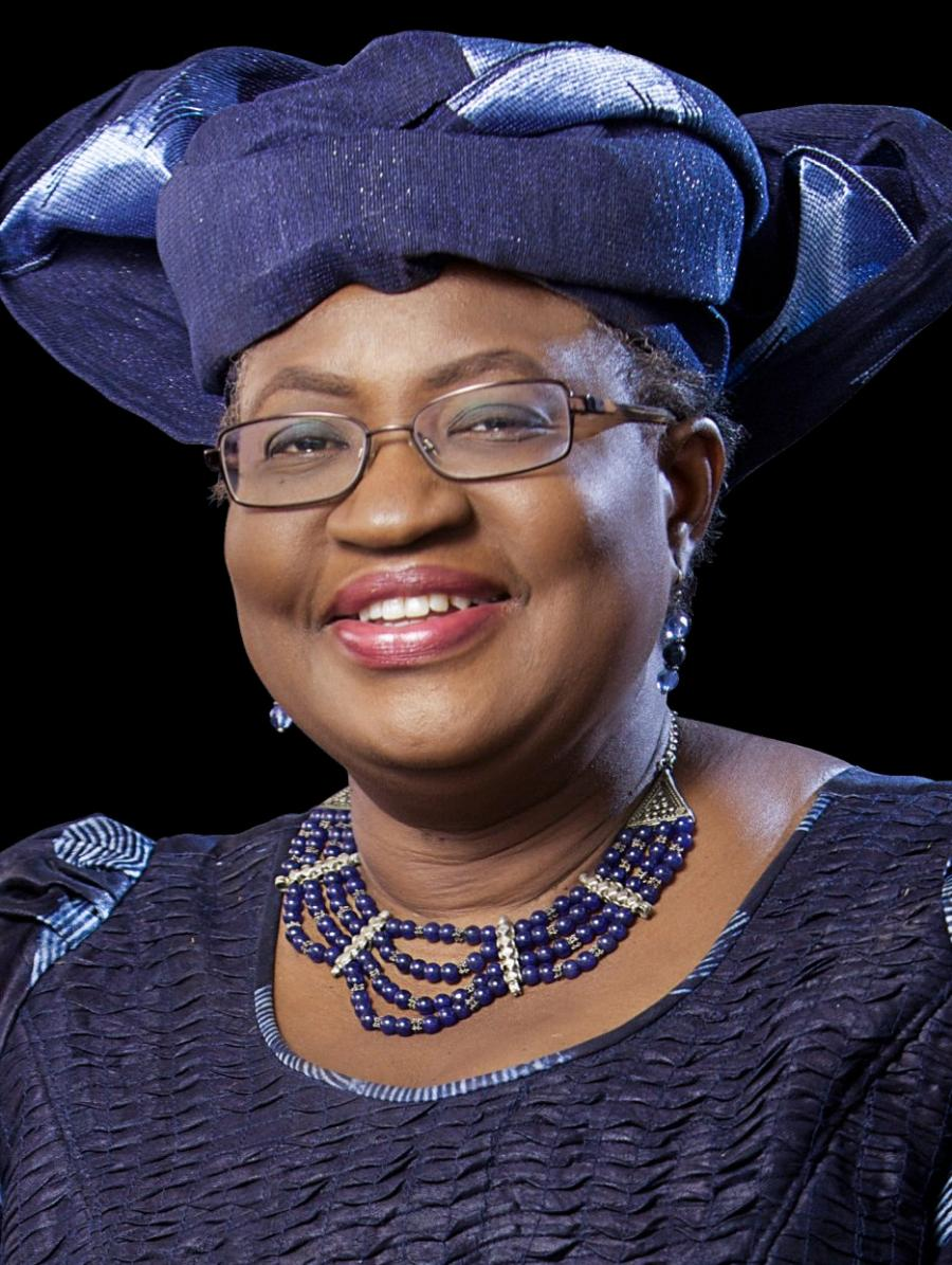 Ngozi Okonjo-Iweala, a former finance minister of Nigeria, also served as a managing director of the World Bank.