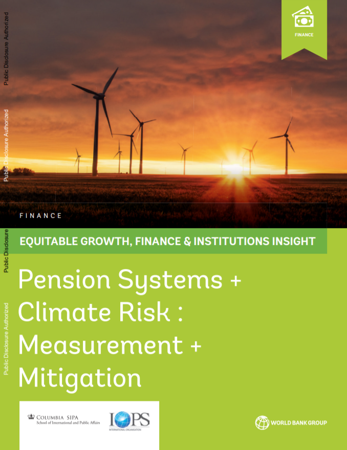 Pension Systems and Climate Risk: Measurement and Mitigation