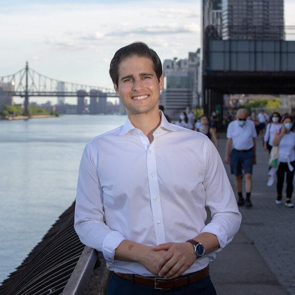 Billy Freeland is a candidate for city council in NYC.