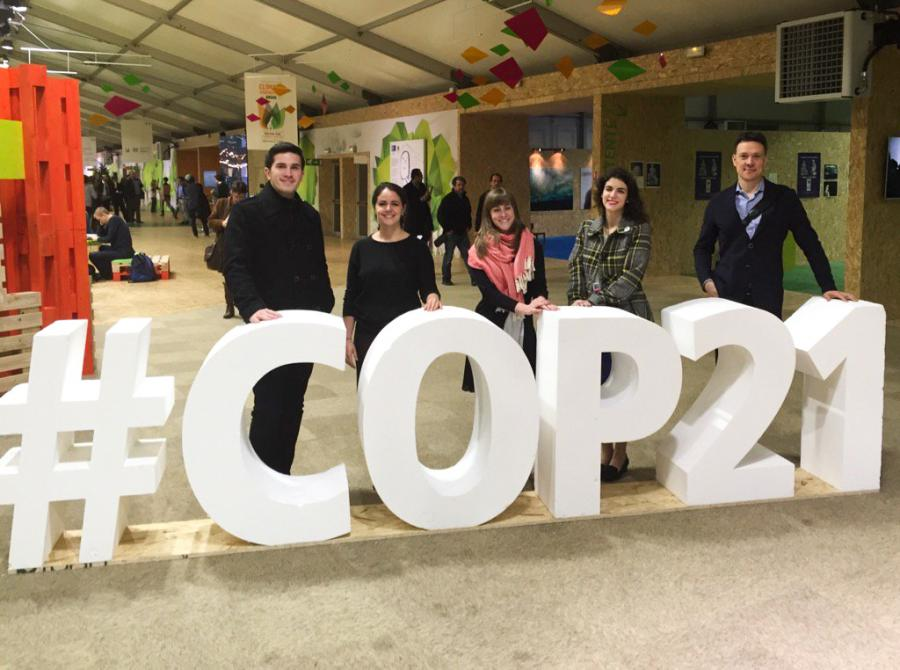 UNFCCC's 21st Conference of Parties: SIPA Delegation, Paris, France