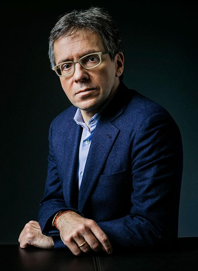 portrait photo, Ian Bremmer