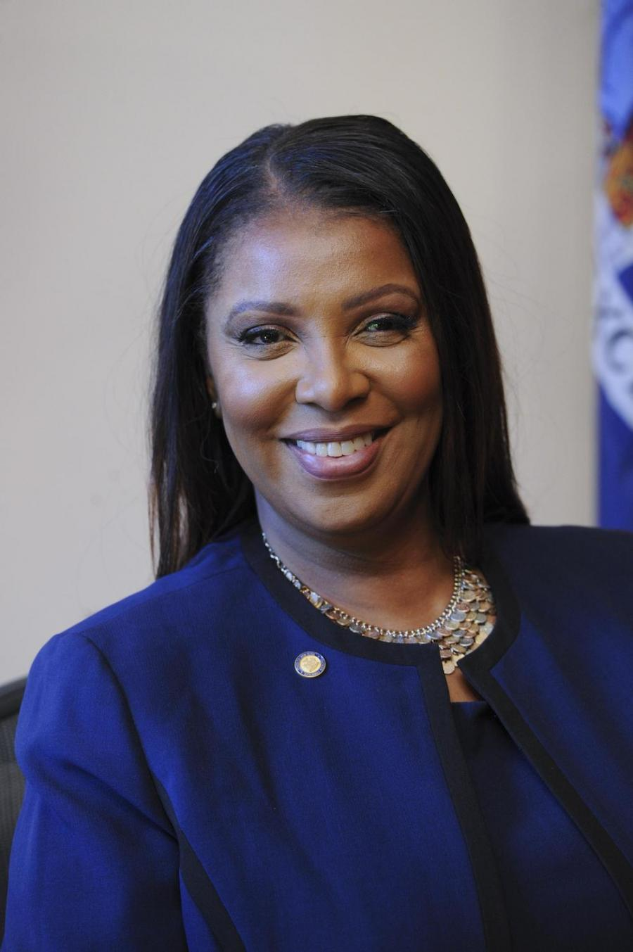 portrait - New York State Attorney General Letitia James