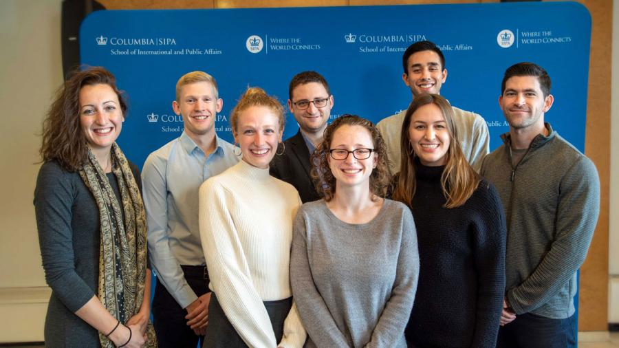 Eight current students are among SIPA-affiliated PMF finalists for 2020.