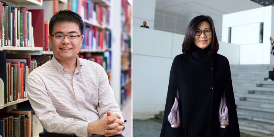 Alan Ching-Tsung Wei MPA-DP '19 and Chingyu Yao MIA '03 are part of New Taipei City's efforts to contain the spread of Covid-19.