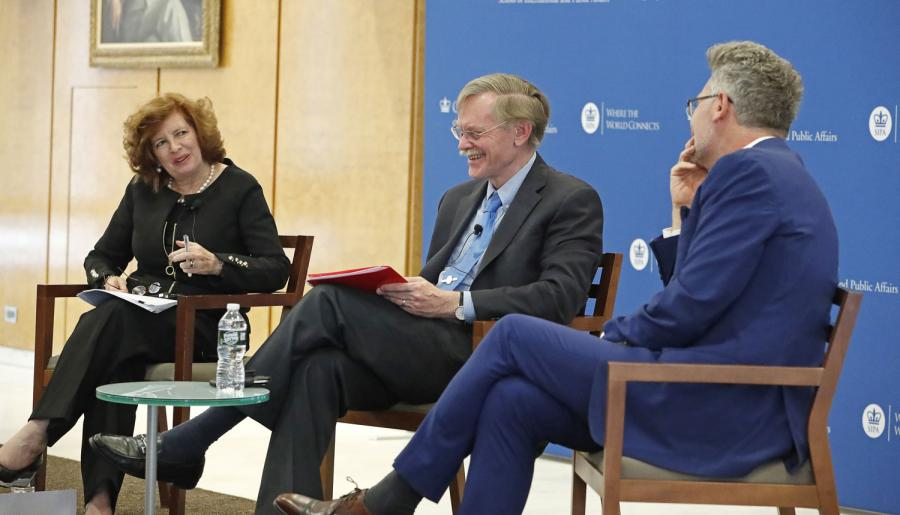 Robert Zoellick traced the development of American trade policy from the 18th century to the present day.