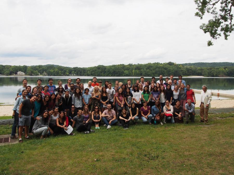 EPD students at annual retreat