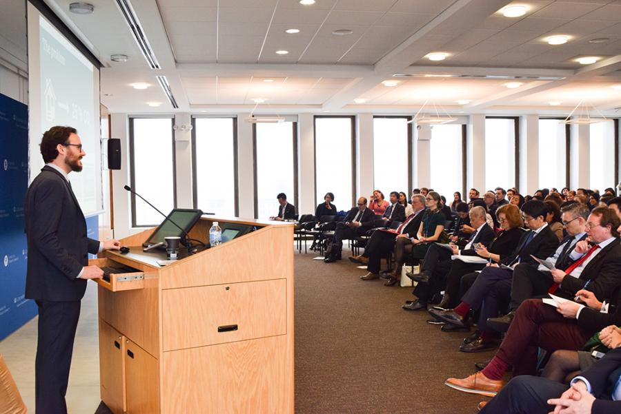 SIPA hosted the annual conference of the Global Public Policy Network (GPPN) in late February