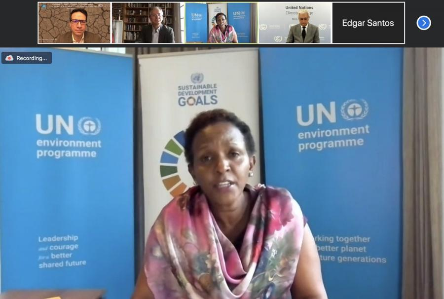 Joyce Msuya of UNEP was among the speakers at a December 2 panel discussion hosted by SIPA's IO/UN specialization and others.