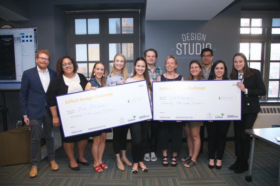 SIPA Ed Tech Challenge Winners May 2018