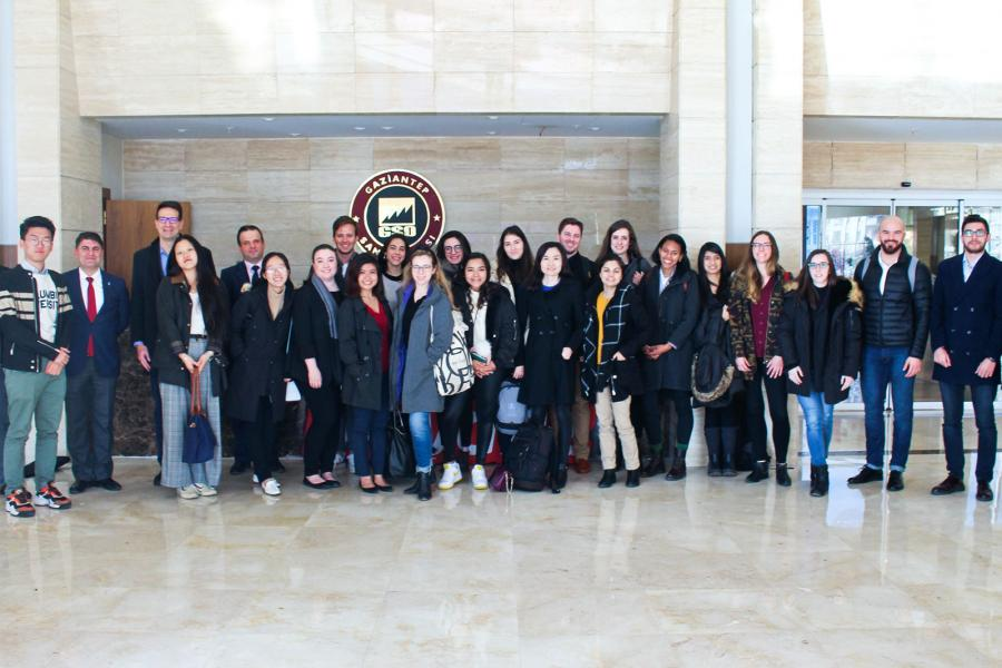 Working from a base in Istanbul, the 20 students in SIPA's inaugural global immersion course focused on policy issues related to Syrian refugees.