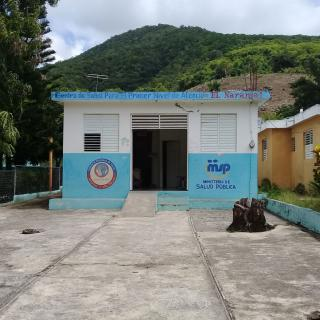 Primary attention clinic, rural Dominican Republic