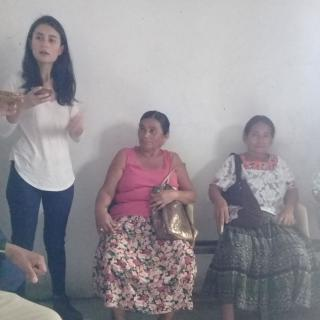 Meeting with indigenous traditional midwives, Guatemala